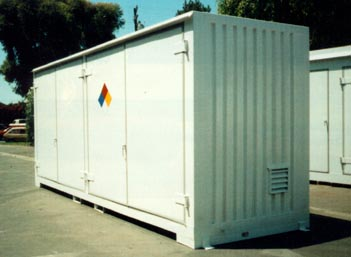 20u0027 Hazmat Storage Buildings