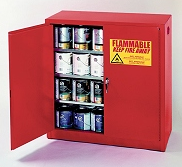 Superbe 5530R Paint And Ink Safety Storage Cabinets